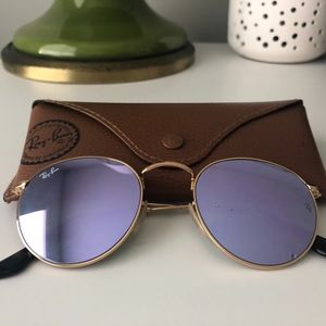 Ray-Ban - Purple Mirror Round